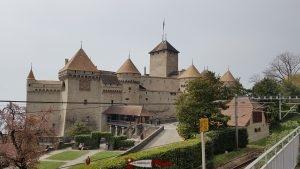 le château de Chillon à Veytaux