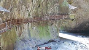 Les gorges du Trient font partie des plus belles gorges de Suisse Romande