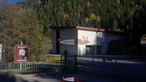 Usine de hydroélectrique de Vallorcine
