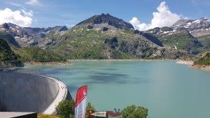barrage d'emosson - hydroélectricité en suisse romande
