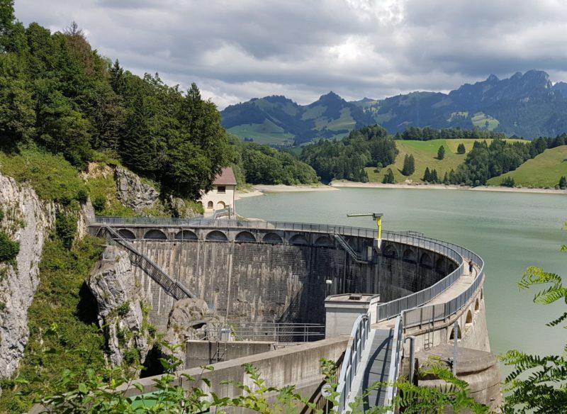 Le barrage de Montsalvens