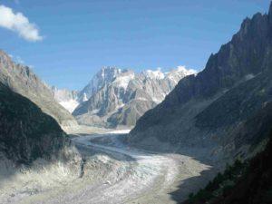 La mer de glace - Mont-Blanc Express