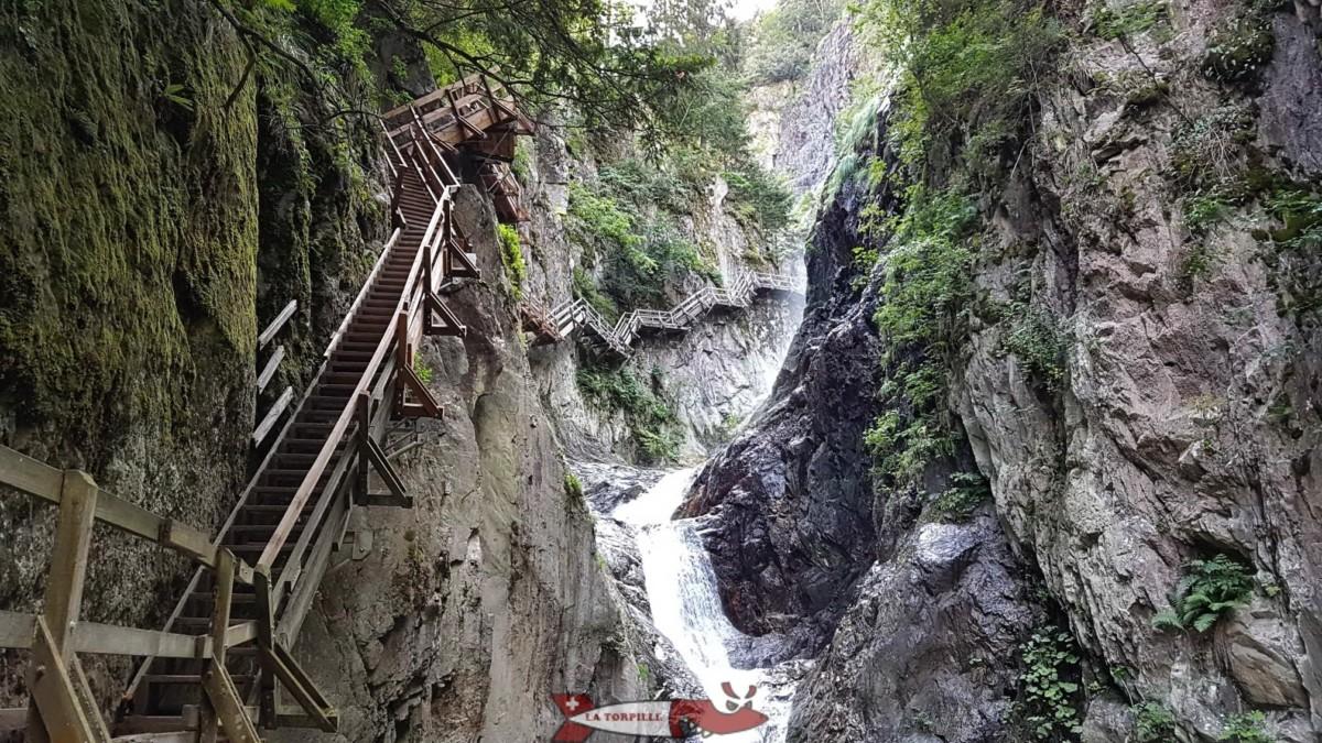 Gorges du Durnand - Bovernier