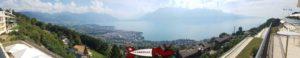 Point de vue depuis le funiculaire Mont-Pelerin