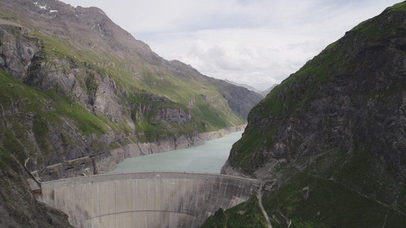 Le barrage de Mauvoisin