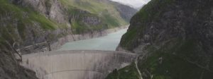 The Mauvoisin dam is with the Grande Dixence dam the highest in Switzerland
