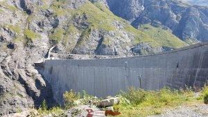 barrage de mauvoisin - hydroélectricité en suisse romande
