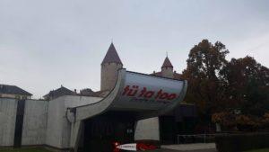 le musée gruérien à côté du château de bulle