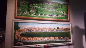 la montée des vaches à l'alpage, la poya