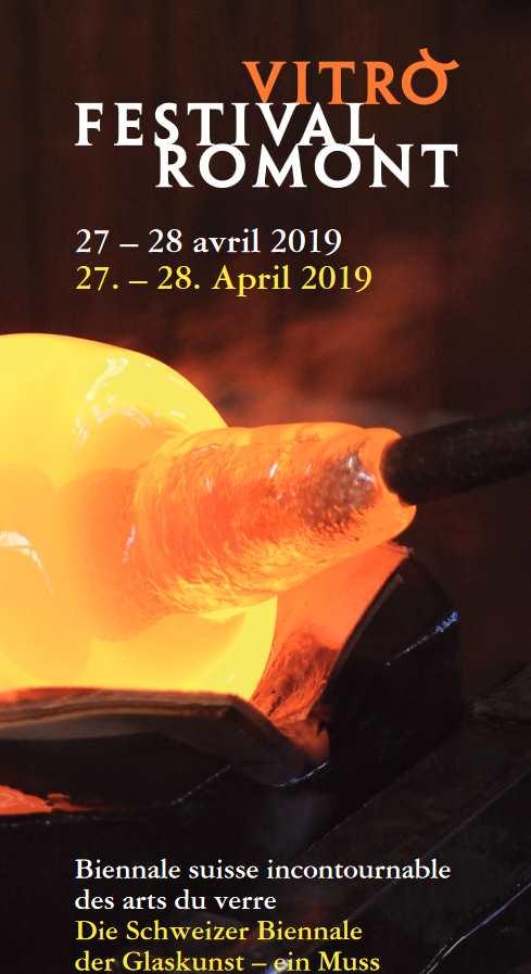 L'affiche publicitaire pour le Vitro Festival de Romont en 2019.