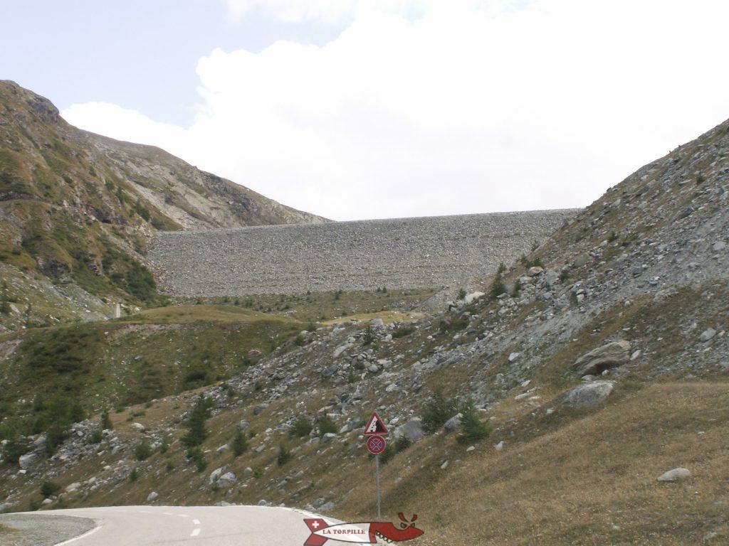 le barrage de mattmark