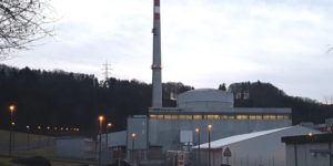 The Mühleberg nuclear power plant in the canton of Berne built in 1972 - hydroelectricity in French-speaking Switzerland