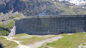 barrage de la grande dixence - hydroélectricité en suisse romande