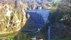barrage de Rossens - hydroélectricité en suisse romande