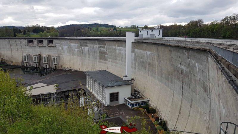 le barrage de Schiffenen de type voute