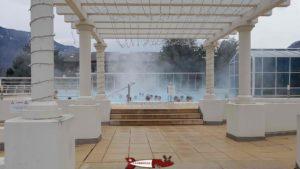 Saillon thermal baths outdoor pool Saillon thermal baths