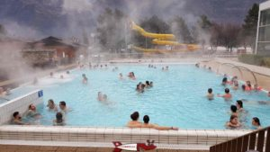 Saillon thermal baths