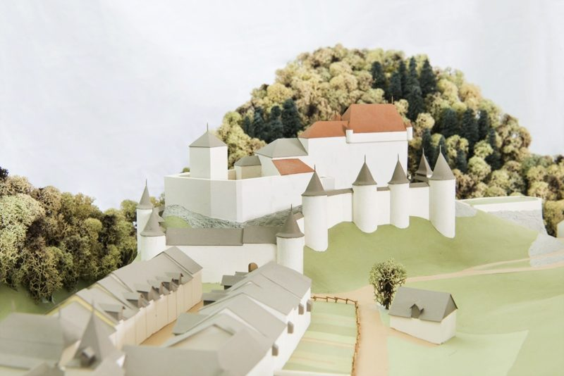 Le château au 15e siècle