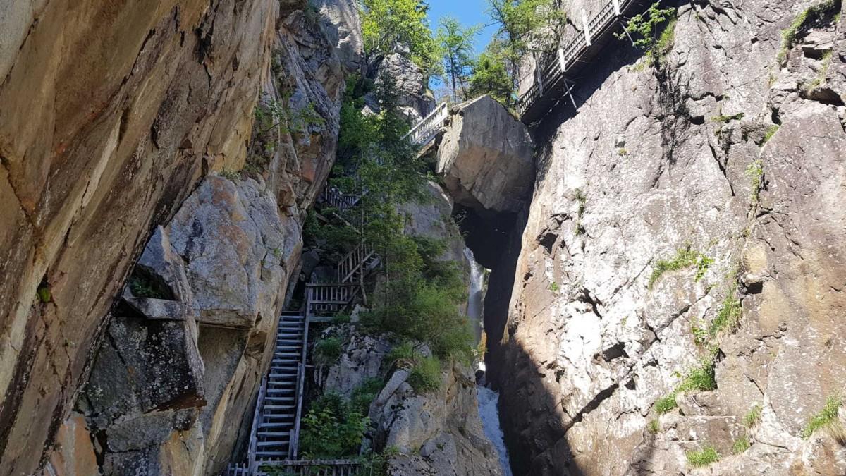 Les gorges du Dailley font partie des plus belles gorges de Suisse Romande