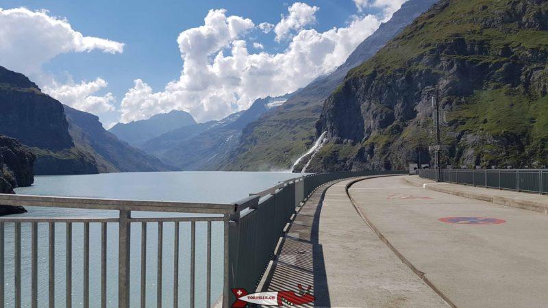 Le barrage de Mauvoisin. Le plus haut barrage voûte d'Europe.