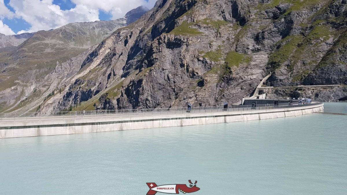 barrage de Mauvoisin rempli mi-septembre