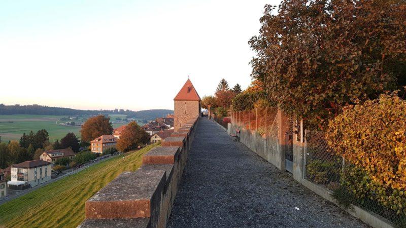 Le Château et remparts de Romont