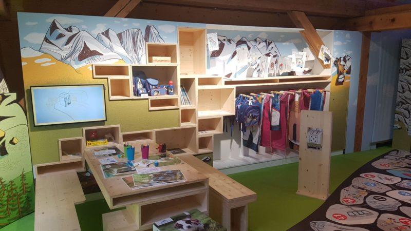 espace ludique pour les enfants au barryland