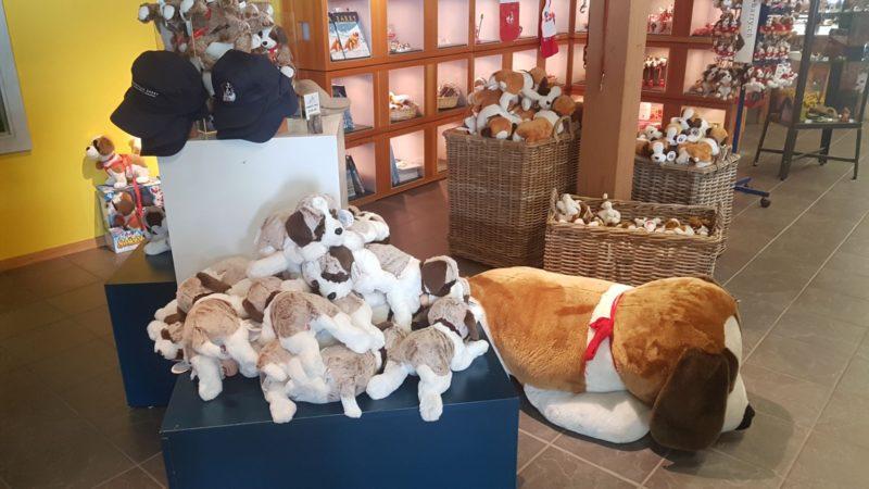 Peluches au shop du barryland
