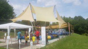 trampolines élastiques au signal de bougy