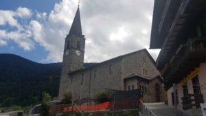 Eglise Sainte-Marie-Madelaine proche des Vieux Moulins de la Tine