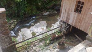 Route à aubes aux Vieux Moulins de la Tine