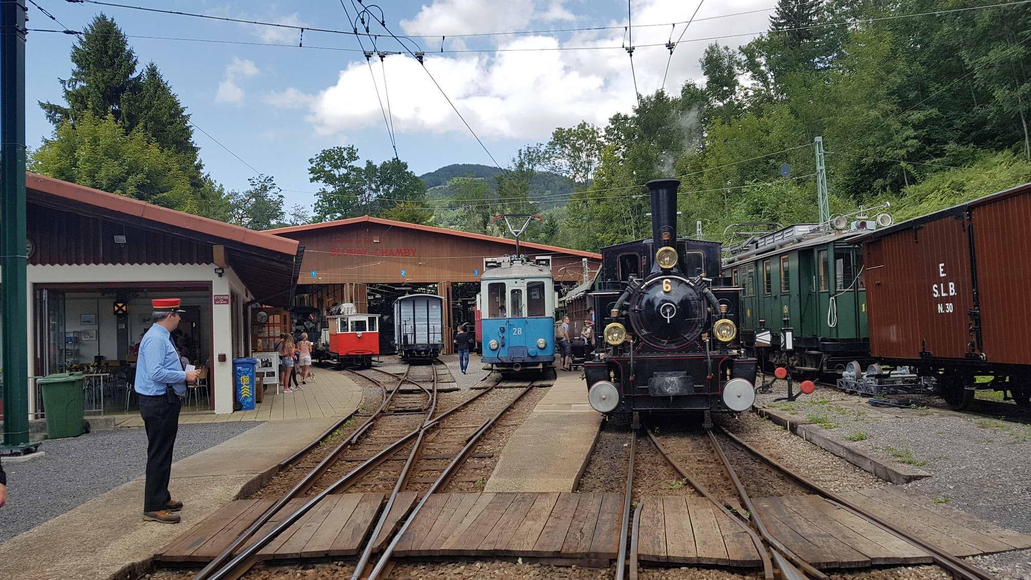 Train à vapeur Blonay - Chamby