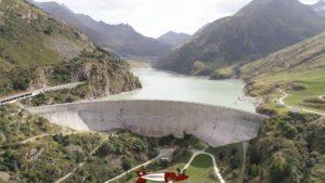 Le barrage des Toules - Forts militaires de Suisse Romande