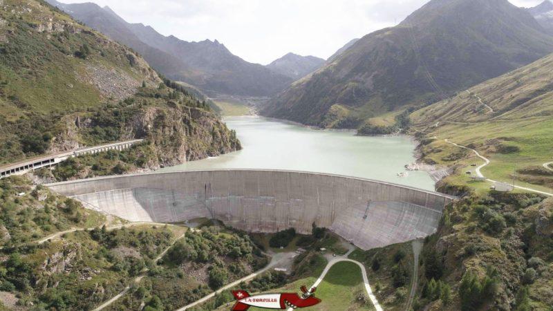 Le barrage des Toules