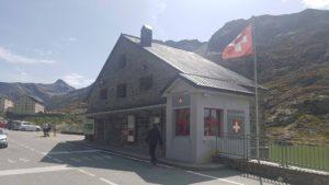 Poste frontière Suisse Italie près de l'Hospice du Grand-Saint-Bernard