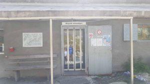 Le magasin monastique près de l'Hospice du Grand-Saint-Bernard