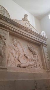 Le tombeau du Général Desaix à l'Hospice du Grand-Saint-Bernard
