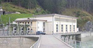 Usine de hydroélectrique de Pallazuit