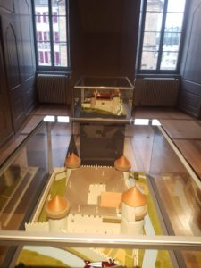 Maquette du Château d'Yverdon dans le musée d'Yverdon et Région