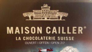 Le logo de la maison Cailler.