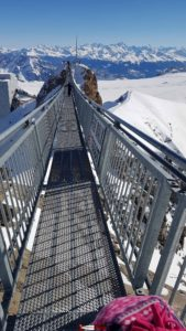 Passerelle Peak Walk Glacier 3000