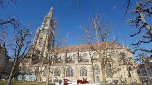 La cathedrale de Berne, l'une des seules cathédrale de Suisse avec la cathédrale de Lausanne