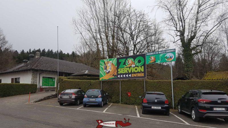 Parking du Zoo de Servion