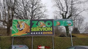 The well-known sign from the Servion Zoo.