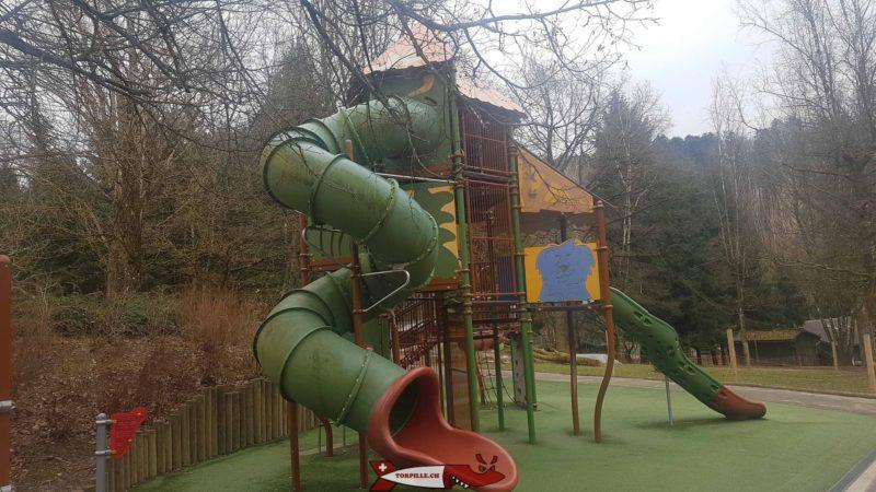 Place de jeux du zoo de Servion