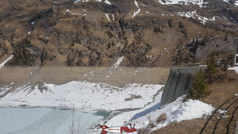 The Tseuzier or Zeuzier dam - Hydroelectricity in French-speaking Switzerland