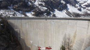 barrage de Tseuzier - hydroélectricité en suisse romande