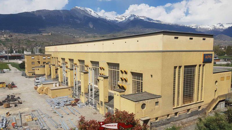 usine hydroelectrique de chandoline - barrage de la grande dixence