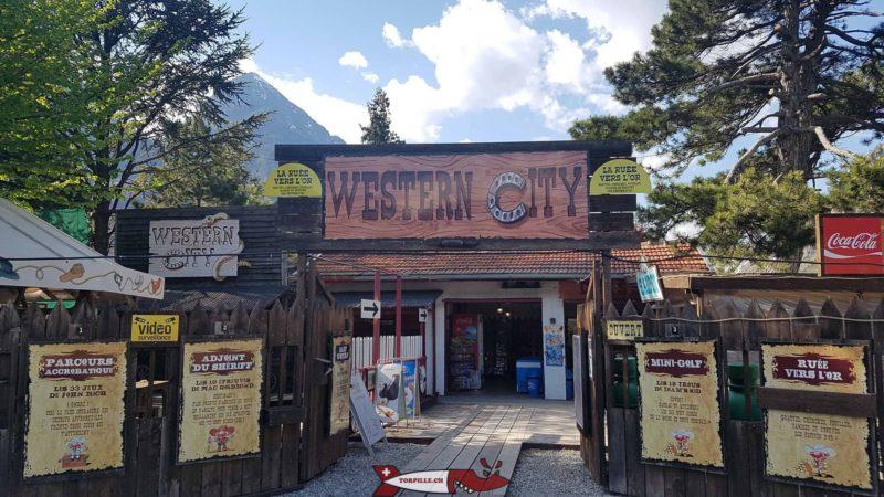L'entrée de Western City