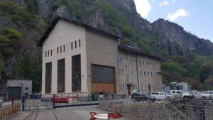 centrale de miéville à côté de la Pissevache